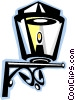 Vector Clipart picture  of a streetlamp