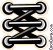 Vector Clip Art image  of a scaffold
