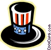 uncle Sam's hat Vector Clip Art picture