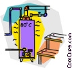Vector Clipart illustration  of a plumbing