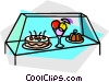 Vector Clipart graphic  of a desserts