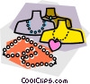 necklaces Vector Clipart image