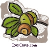 nuts Vector Clip Art picture