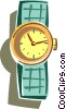 wrist watch Vector Clip Art picture