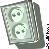 stereo speaker Vector Clipart graphic