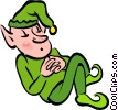 leprechaun Vector Clipart graphic