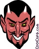 Vector Clipart graphic  of a Devils