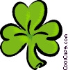 Vector Clip Art graphic  of a St. Patrick's Day
