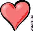 valentines heart Vector Clip Art picture