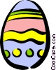 Easter egg Vector Clipart graphic