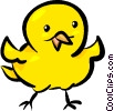 Vector Clipart illustration  of a chick
