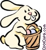 Easter Bunny Vector Clip Art graphic