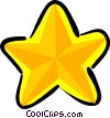 Vector Clipart picture  of a star