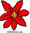 poinsettias Vector Clipart picture