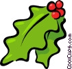holly Vector Clipart illustration