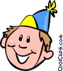 birthday boy Vector Clipart picture