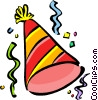Party hat Vector Clipart image