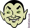 Vector Clipart image  of a count Dracula