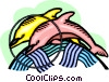 dolphins Vector Clipart graphic
