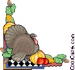 Vector Clip Art graphic  of a thanksgiving
