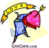 valentines day Vector Clipart graphic