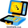 laptop Vector Clipart illustration