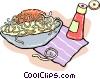 spaghetti Vector Clip Art picture