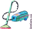vacuum Vector Clipart illustration