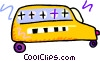 Vector Clipart graphic  of a school bus