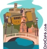 Vector Clipart picture  of a Spain