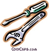 Vector Clipart illustration  of a tools