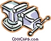 vise Vector Clipart image