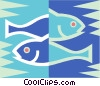 Pisces Vector Clipart illustration