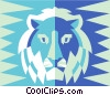 Vector Clip Art graphic  of a Leo