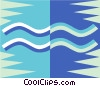 Vector Clip Art image  of an Aquarius