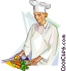 Chefs and Cooks Vector Clip Art image