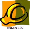 Vector Clip Art graphic  of a hard hat