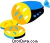 cold cuts Vector Clip Art picture