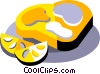 Vector Clipart illustration  of a seafood