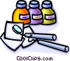 Dentistry tools Vector Clipart illustration