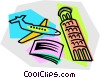 Vector Clipart graphic  of a trip to Italy