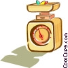 scales Vector Clipart illustration