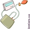 Vector Clipart image  of a blood pressure gages