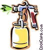Vector Clip Art picture  of an air brush