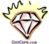 diamonds Vector Clipart illustration