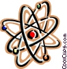 Vector Clipart image  of a nuclear power symbol