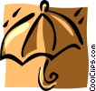 umbrellas Vector Clipart illustration