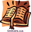 holy bible Vector Clipart illustration