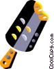 Vector Clip Art graphic  of a Popsicle