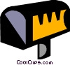 Vector Clipart picture  of a mail box